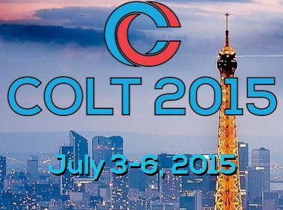 -closed- 2015, July, 3-6, COLT 2015 (Paris, FR)